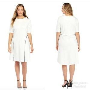 The Limited Plus Size High Low Hem Dress